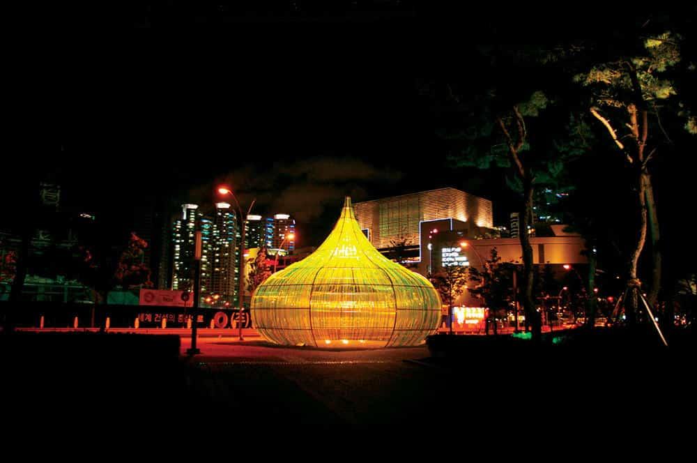 Busan Biennale Dennis Oppenheim