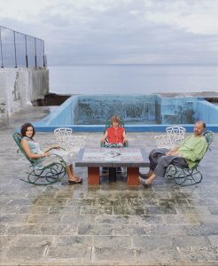 Family of Enrique Rottenberg. Miramar, Havana
