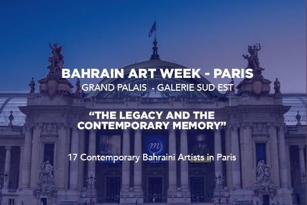 First edition of Bahrain Art Week – Paris opens its doors at the Grand Palais