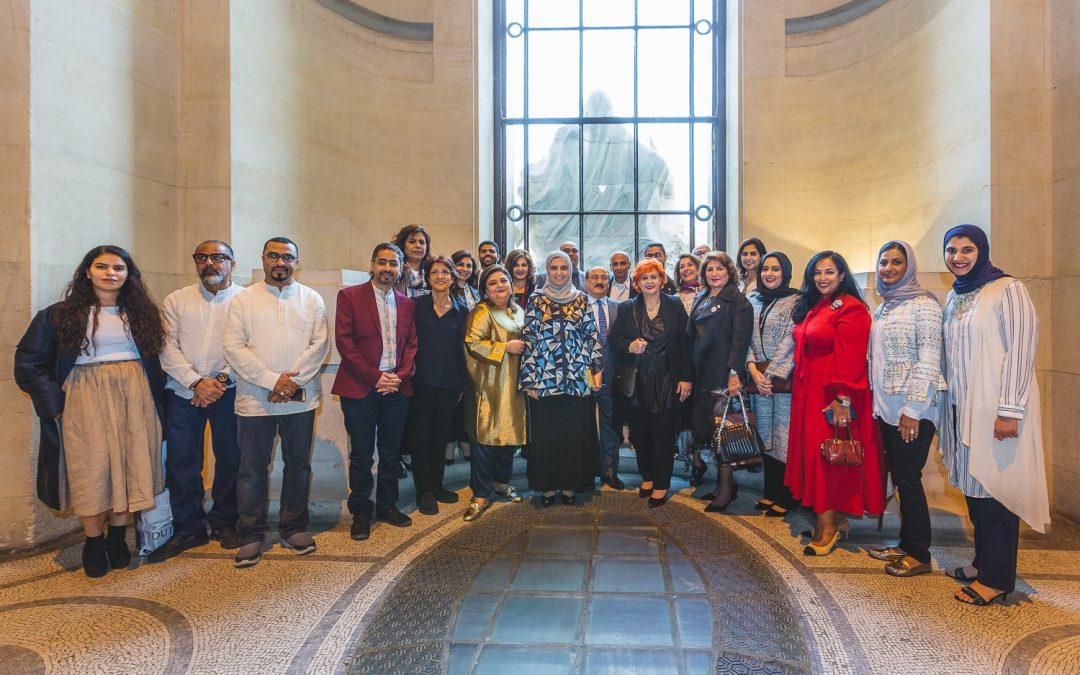 The opening of Bahrain Art Week at Grand Palais