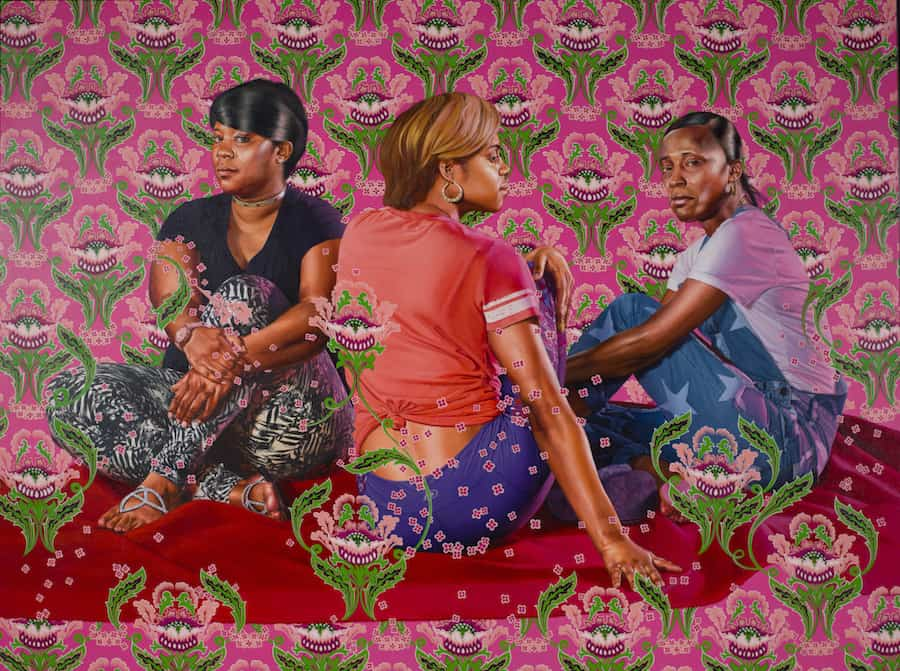 """Kehinde Wiley : """"A history of complicated gazing"""""""