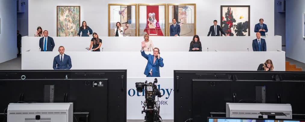 Sotheby's new hybrid format sale: $360 M.