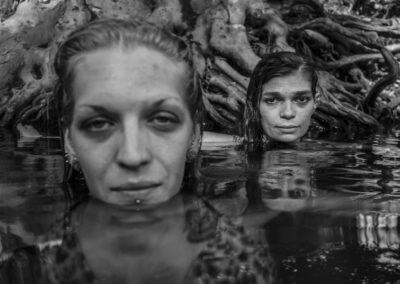 Watering Hole Emily and Belinda